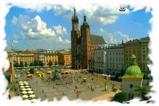 Live webcam Krakow – Old Market Square