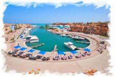 Panorama of El Gouna – webcam of Hurghada (Egypt)
